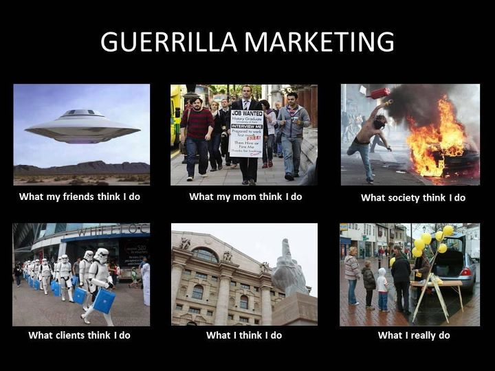 Guerilla Marketing_Flyermen Guerilla Solutions