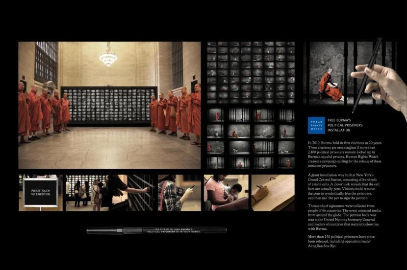 burma-human rights watch campaign_insan hakları izleme örgütü kampanya_geleneksel olmayan pazarlama