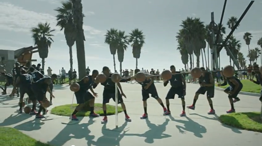 Flash Mob_Launch_Jordan CP3.VI_Venice Beach_Los Angeles_USA