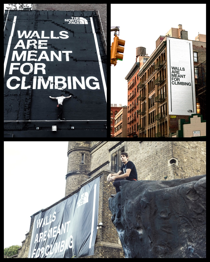 northface-ambient marketing